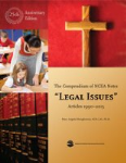Compendium of NCEA Notes Legal Issues 25th Anniversary