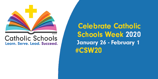 Image result for catholic schools week 2020